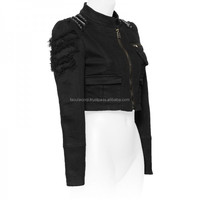 GOTHIC STYLE FASHION JACKET WITH STUDS FOR WOMENS FC-2926
