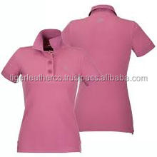Tiger Leather Company latest design 2016 women polo shirts.