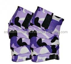 Camo HEAVY DUTY ELBOW SLEEVES SUPPORT WRAPS STRAPS GYM POWER WEIGHT LIFTING PAIR