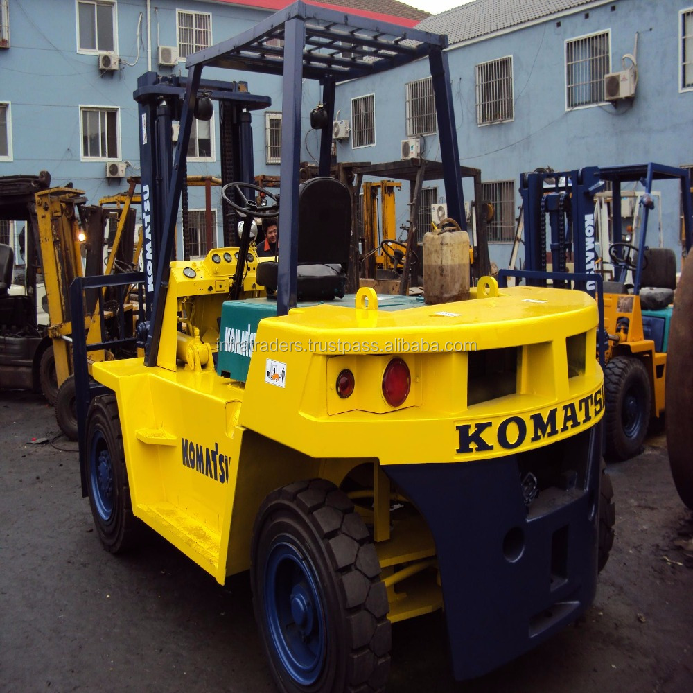 used/second hand 7 ton Komatsu forklift FD70,Originally japan made used komatsu 7t 8t 10t 15t 20t 25t 30t diesel forklift truck