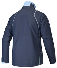 Customized blue color Buyers logo and custom design tracksuits