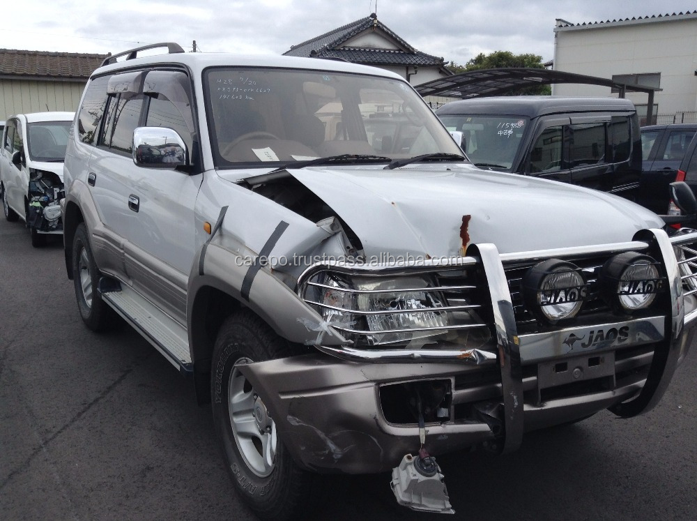 USED ACCIDENT CARS FOR SALE IN JAPAN FOR TOYOTA LAND CRUISER PRADO TX WIDE 1999 KH-KZJ95W