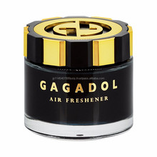 Stylish disposable car air fresheners gel deodorant container , samples also available