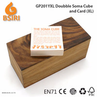 Doubble Soma and Card Wooden Kids Toys