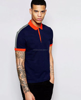 new fashion striped polo shirt ,casual classic cotton t shirt for men