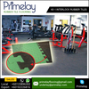 Gym Rubber Floor Tile in Variety of Colors and Styles for Gym