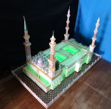 Large size islamic madina mosque building model glass mosque,List of largest mosques