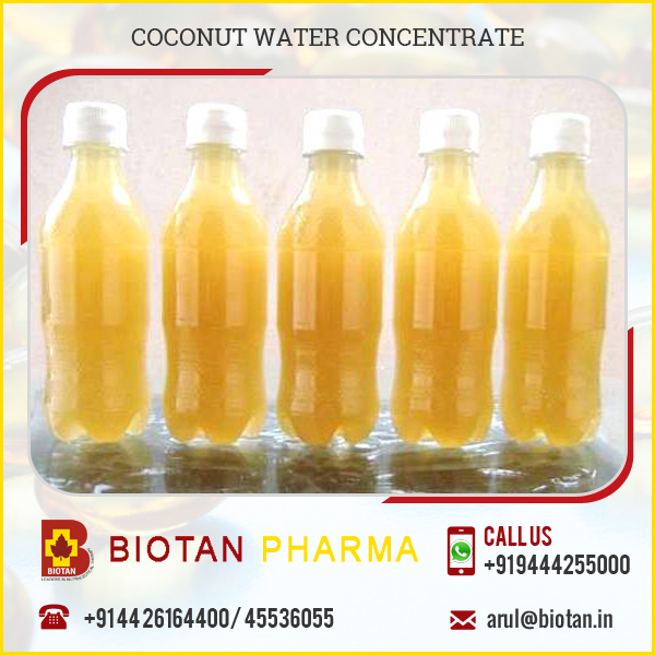 Naturally Sterile Coconut Water Concentrate with Top Quality Vitamin & Minerals