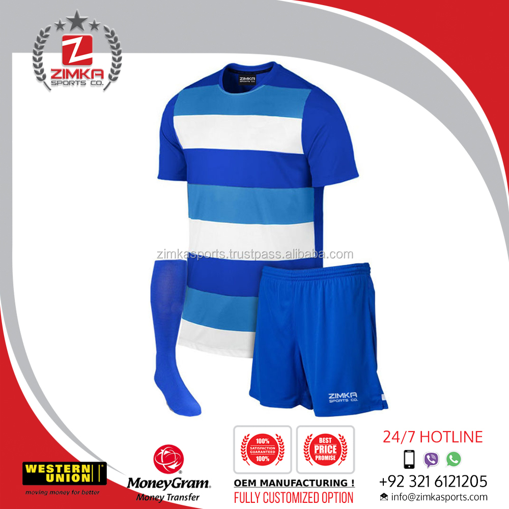 Best quality best selling soccer uniforms jersey