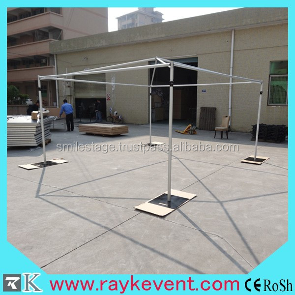 aluminum portable used photo booth pipe and drape for event