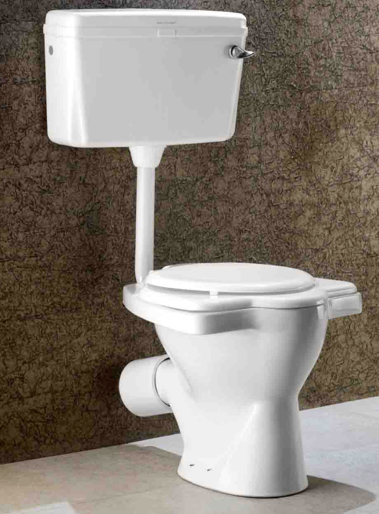 ANGLO INDIAN - WC TOILET WITH FOOT REST