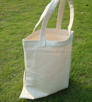 Wholesale Custom Folding Natural Cotton Canvas Grocery Tote Bag
