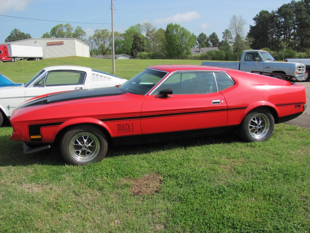 1971 FORD MUSTANG MACH 1 MUSCLE CLASSIC ANTIQUE CAR