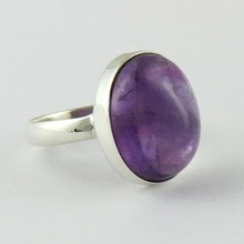 Stylish Purple Amethyst 925 Sterling Silver Ring, Indian Jewelry Manufacturer, Silver Jewelry Exporter