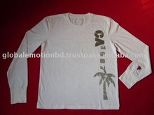 Custom Made Soft brushed cotton t-shirts, long sleeve t-shirts,