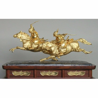 Horses , K24 Gold Craft , Japanese traditional work
