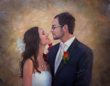 Wedding Gift Art Portrait Painting and Drawing Services