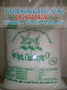 LDPE/PP bag for rice/ srew packaging from Vietnam factory