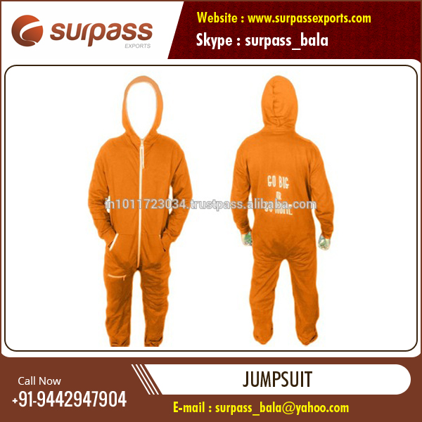 Anti-Wrinkle Colorful Unisex Jumpsuits Available for Sale