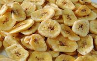 Packed Dried Instant Fruits Banana Chips Snack