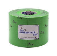 South Korea/ Sports Tape / Muscle Tape / SPOL / Kinematics Tex / Kinesiology tape / 5CmX5m / Green