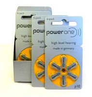 A 13 power one hearing aid battery hottest selling zinc air hearing aid batteries