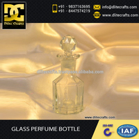 Widely Used Latest Design Trendy Glass Perfume Bottle at Economical Price