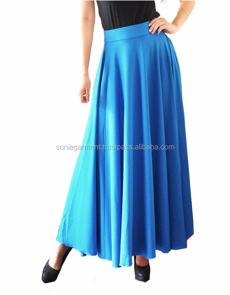 Muslim long skirt long pants fashion design for ladies women