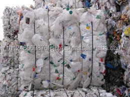 HDPE bottle scrap, HDPE Natural Milk Jugs in bale for sale