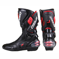 Motorbike Riding Shoes Protective Speed Motorcycle Boots Racing Pro Biker stunts Boots Men