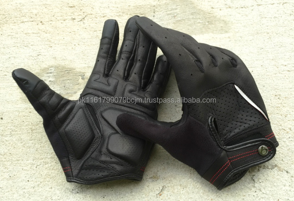 HRI Top Promotion Full Finger Cycling Glove For Motorcycle