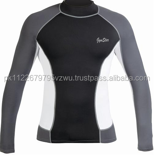 Perfect to wear cool Rash guard ideal long sleeve for all kinds of watersports.