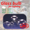 Japanese and Various types of glass hid bulb for industrial use , Original design available