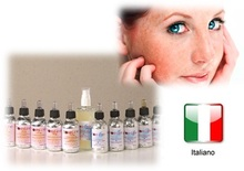 Italian professional skin care formula: olive oil organic cosmetic for special skin care set