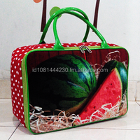 Canvas Travel Bag Fresh Fruit Edition