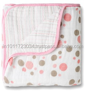 disposable muslin fabric baby blanket