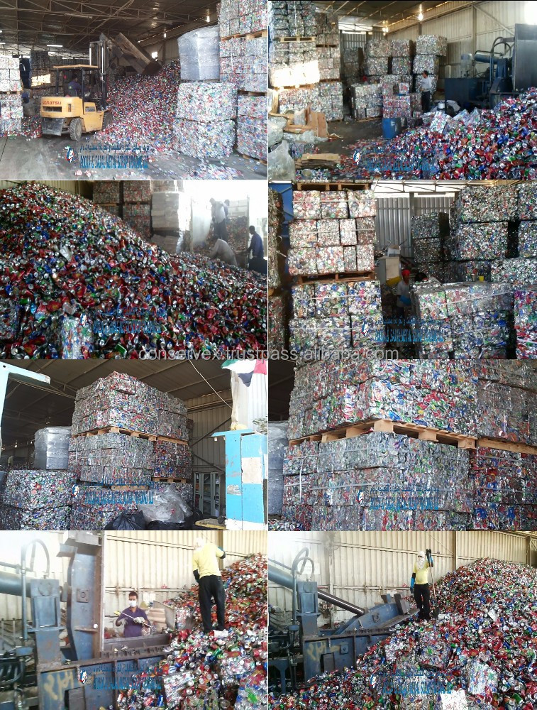 Aluminium Scrap - UBC- Bricked Used Beverage Cans