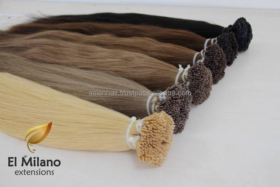 Best 100% Natural Virgin Human Hair Keratin Tipped Extensions From El Milano Grow Tent