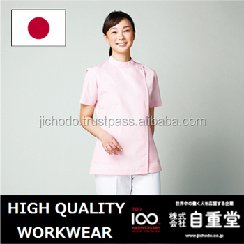 polyester cotton fabric women uniform for nursing, Made by Japan