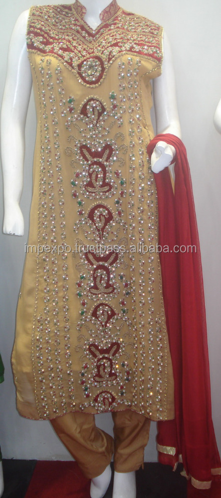 Punjabi suit design picture / Pakistani wholesale salwar kameez