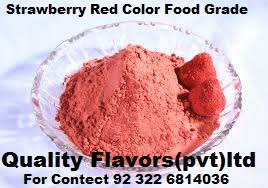 strawberry red Color Food Grade