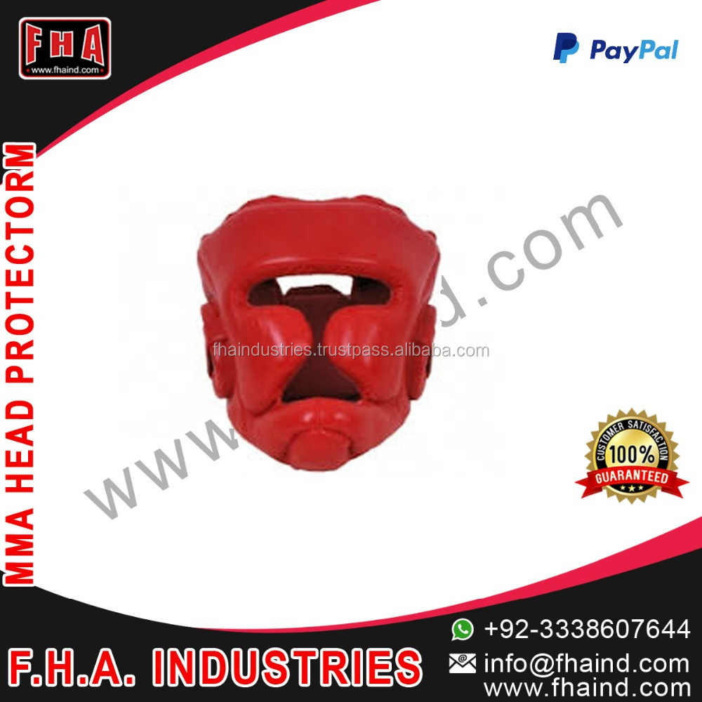High Quality leather boxing Head Gear / boxing head protector