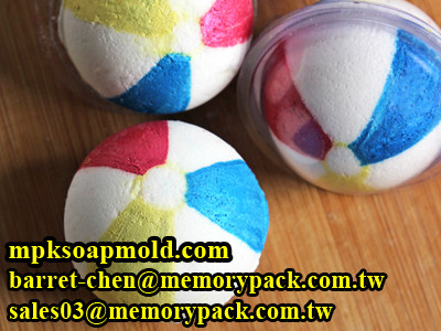 plastic bath bomb clamshell mold soap sphere mold ball making diy