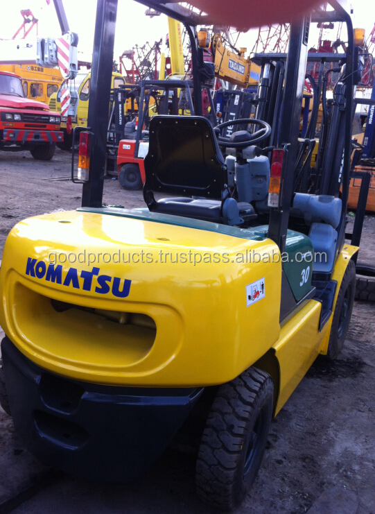 Used forklift 3 ton komatsu fd30-14, FD30-14 for sale, Original from Japan