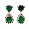 Latest Design Cubic Zirconia Green Color