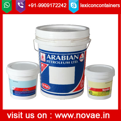 PP material factory direct sale oil paint used 10L buckets with spout