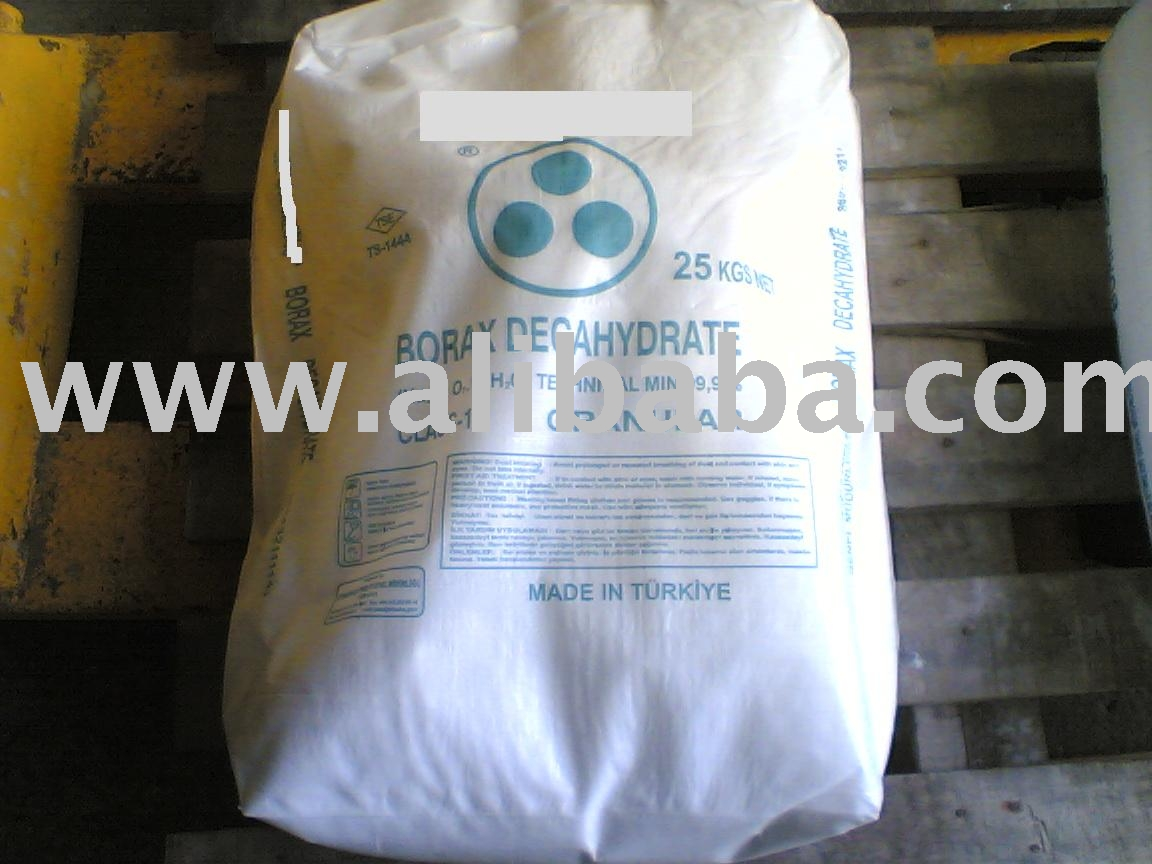 Borax Decahydrate Technical Grade