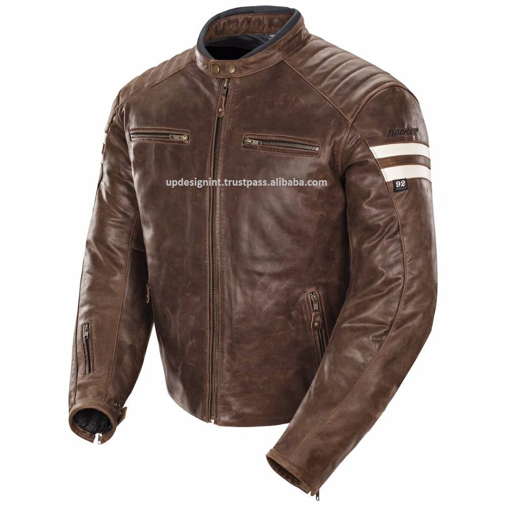 Classic joe-rocket RACING BIKE JACKET CE APPROVED PROTECTION/MOTORCYCLE RACING LEATHER JACKETS