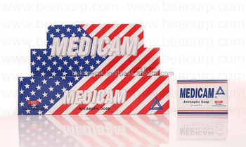 MEDICAM natural antiseptic medicated soap high quality Indonesian product