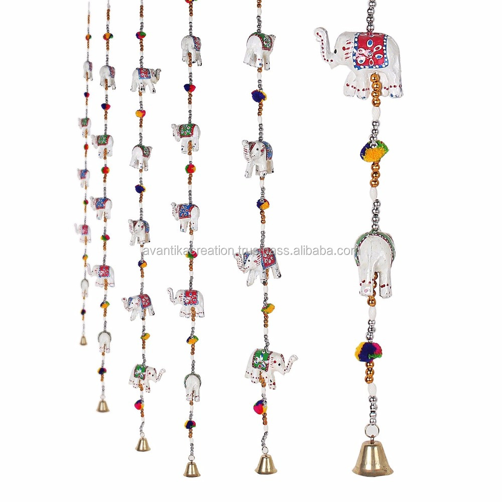 Indian Traditional Elephant Door Hanging Decorative Ornaments Festive Decoration